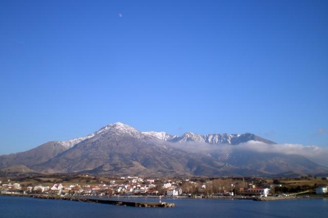Samothraki harbour