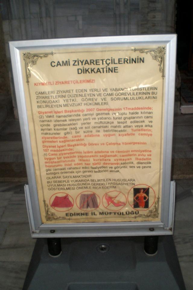 Üç Şerefeli Cami mosque, Edirne