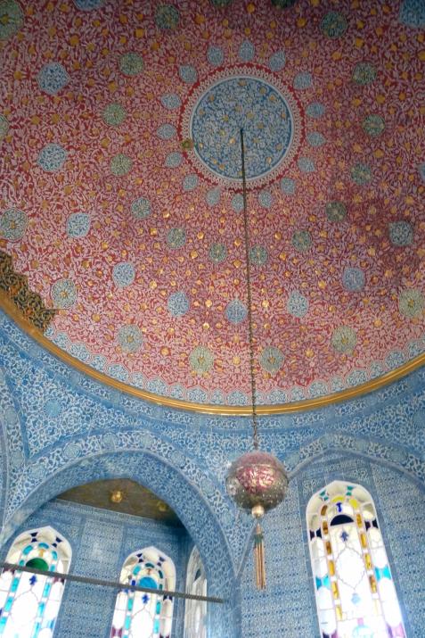 26.10.12 Istanbul-23 Topkapi ceiling