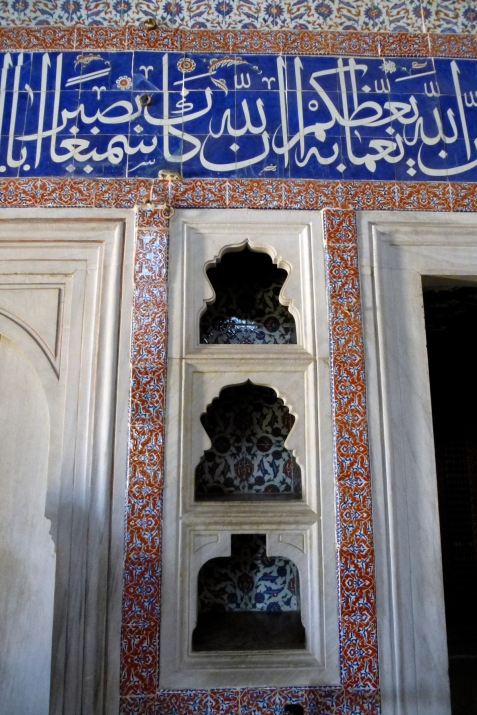 26.10.12 Istanbul-40 Topkapi harem Sinan room
