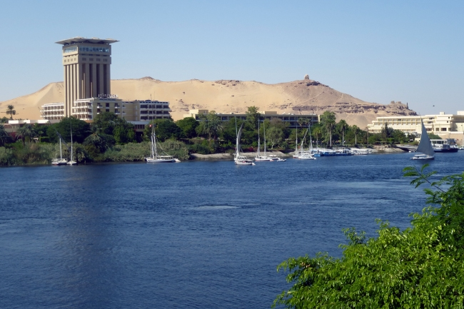 the Nile at Aswan